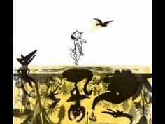 From the Silent Book - Shadow- by Suzy Lee Suzy Lee, Shadow Creatures, Camberwell College Of Arts, Wordless Picture Books, Silent Book, Shadow Puppets, Conte, Drawing, Graphic Illustration