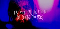 Image result for my chemical romance quotes kids from yesterday