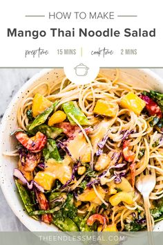 Thai Noodle Salad, Thai Noodles, Good Healthy Recipes, Whole Food Recipes, Diabetic Recipes, Juicy Baked Chicken, Vegetarian Cabbage, Picnic Foods, Grilled Pork