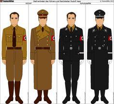 Rudolf Hess's Uniforms