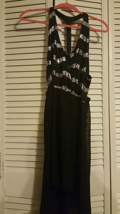 New Juniors rue 21 dress black sequin silver  party/prom/club size large   Clothing, Shoes & Accessories, Women's Clothing, Dresses   eBay!