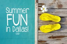 Summer Fun in Dallas! In case you missed it, here is a run-down of our recent features on fun summer activities and events happening across the DFW Metroplex.