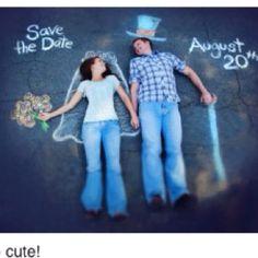 Such a cute save the date idea