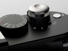 Details we like / Camera / Buttons / Knobs / Numbers / Black / At inspiration
