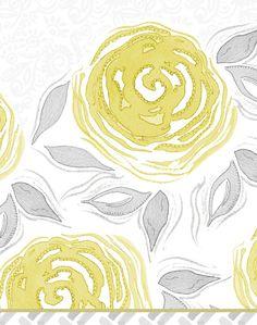 Modern Watercolor Painting Art  Print Yellow by stephanieryanart, $22.00