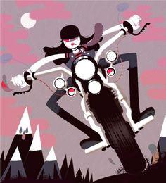 Ottonero Cafe Racer: Pink Lady
