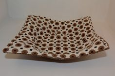 Microwave Cozy // Dinner Plate Cozy // Reversible // Funky