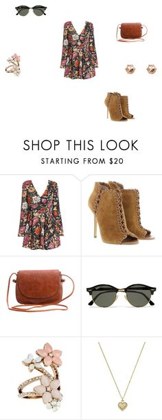 """""""vintage"""" by ikatsamaki on Polyvore featuring Michael Kors, Ray-Ban, Accessorize and vintage"""