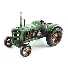 Unusual Gifts, Tractors, Outdoor Power Equipment, Transportation, Tin, Classic, Vehicles, Model, Derby
