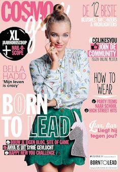 Proefabonnement: 5x CosmoGirl € 14,95: Cosmo Girl is de glossy voor hippe meiden. Met hippe mode en beauty, mooie jongens en spraakmakende celebrities en nog veel meer.