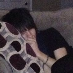 i know this is kinda weird to have a picture of johnnie sleeping but i just think its really cute