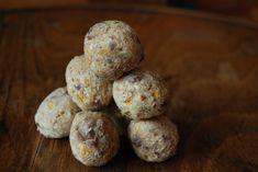 Kokosové kuličky s meruňkami a čokoládou
