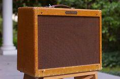 1960 Fender Vibrolux - Narrow Panel Tweed - 5F11 -