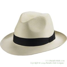 Panador Classic Fedora Panama Hat: the fedora is our most popular Panama hat style. It's still the perfect straw hat for the beach, sporting events, your favorite smoking lounge, and all types of classy occasions.