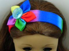 American Girl Doll Headband 18 doll by TheShopOnLeightonAve, $5.25