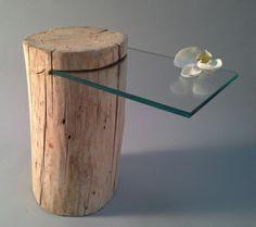 Une table de chevet en bois - à choisir ou à faire vous-même