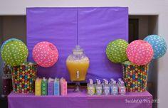 "Photo 6 of 40: LEGO® Friends, Pink, Purple, Girl / Birthday ""Danika's LEGO® Friends 7th Birthday"" | Catch My Party"