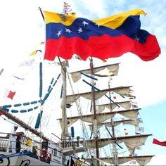 Bandera nacional del Buque Escuela Simón Bolívar, Venezuela