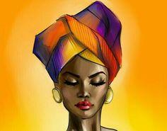 Afro, Watercolor Art Face, Beautiful Artwork, Indian Art, Black Art, Acrylics, Circles, Disney Characters, Fictional Characters