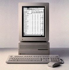 History of computer design: Macintosh IIcx - Giulia Computer Workstation, Computer Case, Gaming Computer, Apple Newton, Design Language, Cool Gadgets, How To Memorize Things, Pc Network, Floppy Disk