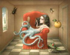 Сюрреалистичные миры Nicoletta Ceccoli