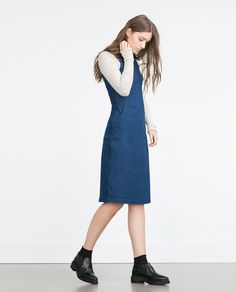 Image 1 of MIDI DRESS from Zara