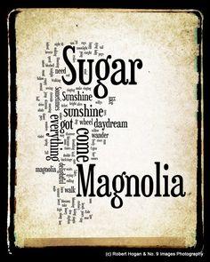 Sugar Magnolia Lyrics Grateful Dead Word Art by Grateful Dead, Music Love, Love Songs, Forever Grateful, Song Quotes, Music Lyrics, Word Art, Great Quotes, Quotes