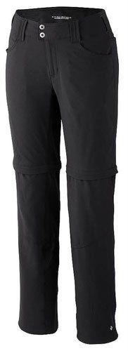 "Columbia Women's Saturday Trail Straight Convertible Leg Pant by Columbia. $59.93. Zip-off legs convert to 10"" short. Gusset detail. Omni-Shade UPF 50 sun protection. From the Manufacturer                These durable, sun-and-stain-repelling pants will keep you comfortable and protected during active outdoor adventures of all kinds and zip-off legs provide valuable versatility in changing conditions.                                    Product Description                These..."