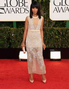 ELLE celebrates the A-list red carpet highlights from the Golden Globes 2013 | ELLE UK