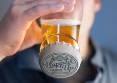 HOPPED UP Beer Glass by Fred and Friends