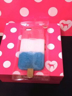 Victoria's Secret Popsicle Phone Case Apple iPhone 6 Pink Flexible Sold Out New #VictoriasSecret
