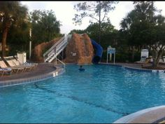 One of the pools at Vistana Resort