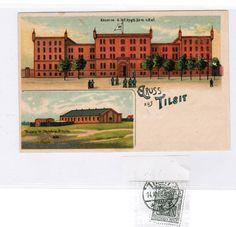 Deutsches Reich Ostpreußen Ansichtskarte TILSIT Kaserne