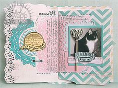 sugar chic goes shabby chic! a soft & sophisticated memory file diary