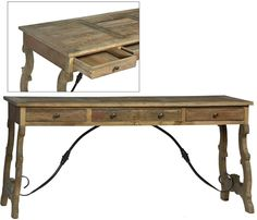 Dovetail Furniture - Ashbee Desk - DOV9812