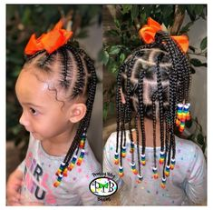 Toddler Braided Hairstyles, Toddler Braids, Black Kids Hairstyles, Cute Little Girl Hairstyles, Little Girl Braids, Baby Girl Hairstyles, Natural Hairstyles For Kids, Braids For Kids, Natural Hair Styles