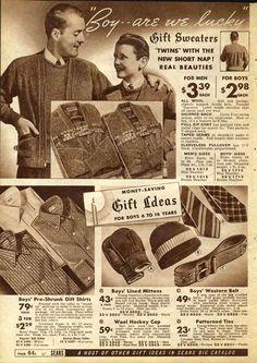 1930s Fashion: Men & Boys