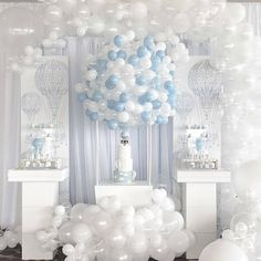 Trendy Baby Shower Decorations For Boys Balloon Dessert Tables Ideas Baby Shower Decorations For Boys, Baby Shower Centerpieces, Baby Shower Favors, Baby Shower Parties, Baby Shower Themes, Shower Ideas, Girls Tea Party, Baby Party, Tea Parties