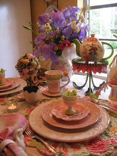 Spring-Easter Table