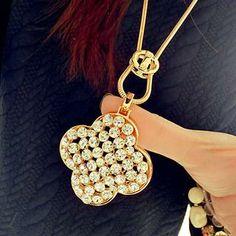 Rhinestone Necklace from #YesStyle <3 Gossip Girl YesStyle.co.uk