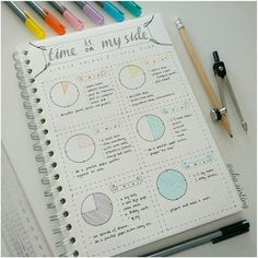 """Time Is On My Side"" spread as inspired by @ohayobento! Little things to do with little time! A great way to have quick access to filler time ideas! Creative and Minimal Journal Design"