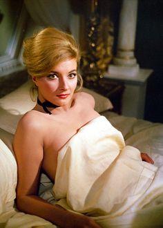 Bond girls: Daniela Bianchi as Tatiana Romanova in From Russia With Love, 1963.