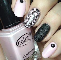 pretty nail art #nails