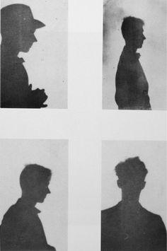"""Self-Portrait Juan-les-Pins, France"" Walker Evans 1927 4 gelatin silver prints"