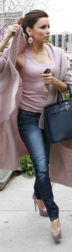 Eva Longoria in skinny jeans