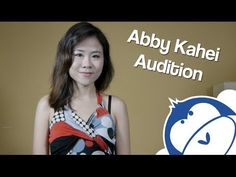 Abby Kahei Audition - What Do Men Want?