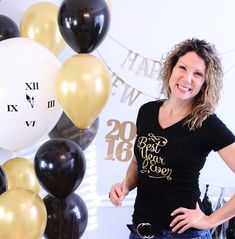 Make a Best Year Ever glitter iron-on DIY t-shirt in just minutes! Perfect to wear to ring in the New Year. Visit The Celebration Shoppe.