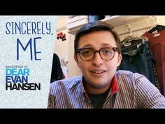 Episode 1: Sincerely, Me: Backstage at DEAR EVAN HANSEN with Will Roland - YouTube Will Roland, Dear Even Hansen, Be More Chill, Don T Lie, Happy Trails, Get Tickets, Musical Theatre, Dear Friend, Backstage