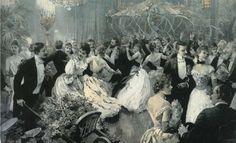 The Garden Party - San Francisco 1891