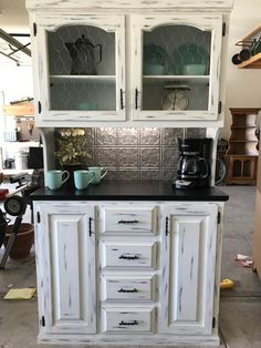 18 best black distressed cabinets images future house home decor rh pinterest com